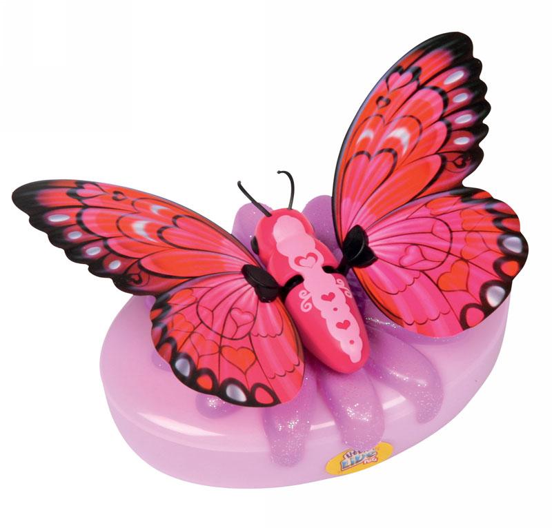 Moose Интерактивная игрушка Little live Pets: Бабочка Малинницаmalinnica/ast28002Интерактивная игрушка Moose Little Live Pets: Бабочка Малинница несомненно понравится вашей малышке. Она выполнена из качественных материалов в виде прелестной бабочки, которая выглядит совсем как настоящая. В руках ребенка она сразу оживет! Бабочка умеет махать крылышками - играя с ней, ребенок услышит звуки хлопающих крыльев. Благодаря специальной присоске бабочка может сидеть не только на руке, но и на окне или любой гладкой поверхности. Игрушка подзаряжается с помощью яркого аккумулятора, оформленного блестящим цветком. В комплект также входят присоска и аккумулятор. Ваш ребенок будет в восторге от такого подарка! Необходимо докупить 2 батарейки напряжением 1,5V типа АА (не входят в комплект).