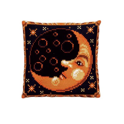 Набор для вышивания подушки Pako Луна, 40 см х 40 см7708504Красивый и стильный рисунок-вышивка, выполненный на страмине с нанесенным рисунком, станет прекрасной заготовкой для создания стильной декоративной подушки. Вышивка выполняется крестиком. Вышивание отвлечет вас от повседневных забот и превратится в увлекательное занятие! Работа, сделанная своими руками, создаст особый уют и атмосферу в доме и долгие годы будет радовать вас и ваших близких, а также станет прекрасным подарком. В набор входит: - канва-страмин с нанесенным рисунком (100% хлопок), - пряжа (100% акрил), - игла, - подробная инструкция. Обратная сторона подушки и наполнитель в комплект не входят.