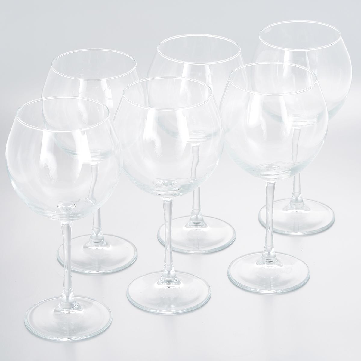 Набор фужеров для вина Pasabahce Enoteca, 630 мл, 6 шт44238BНабор Pasabahce Enoteca состоит из шести фужеров на длинных ножках, выполненных из прочного натрий-кальций-силикатного стекла. Фужеры излучают приятный блеск и издают мелодичный звон. Предназначены для красного и белого вина. Набор фужеров Pasabahce Enoteca прекрасно оформит праздничный стол и станет хорошим подарком к любому случаю. Можно мыть в посудомоечной машине и использовать в микроволновой печи.