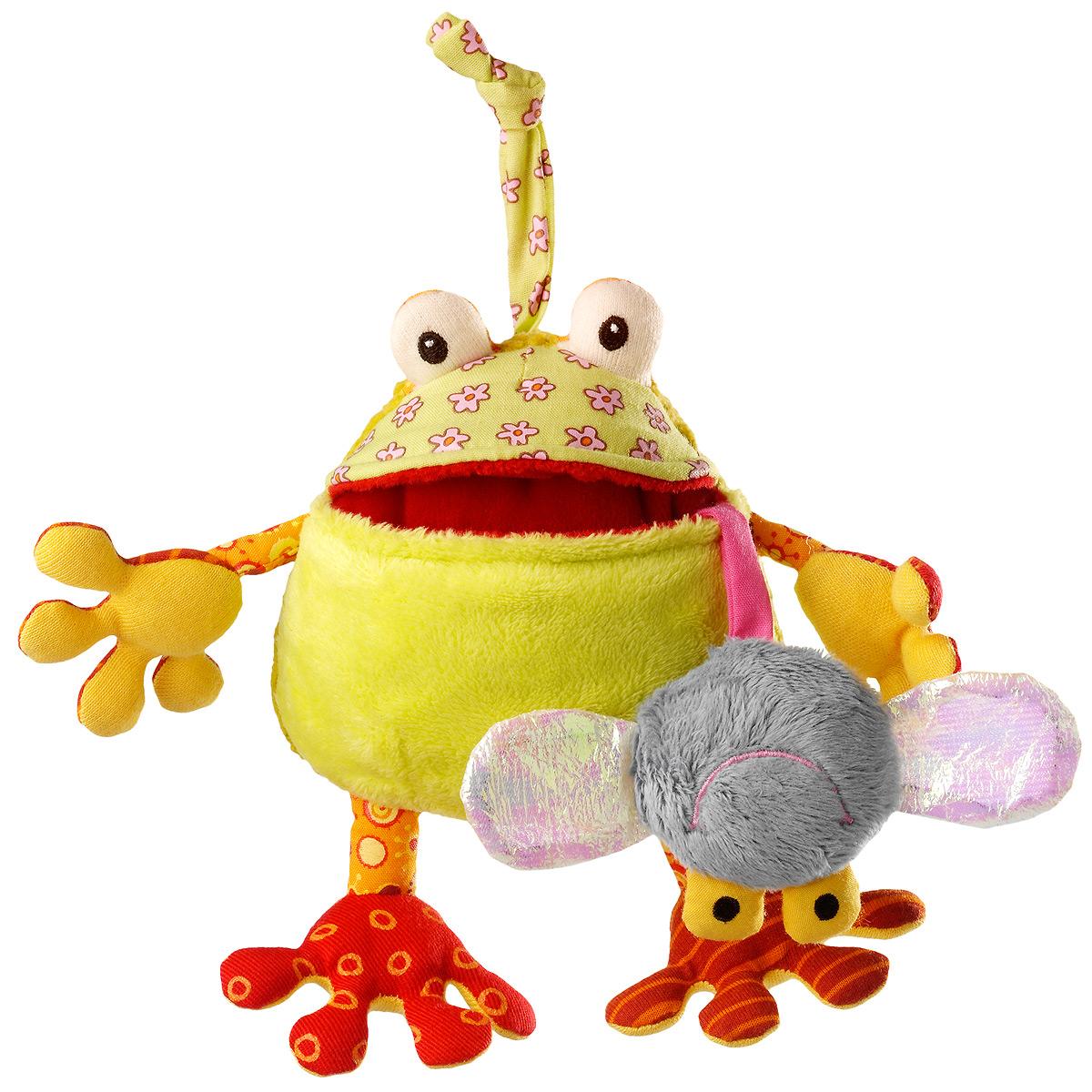 Развивающая игрушка Lilliputiens «Жаба Ромео», маленькая