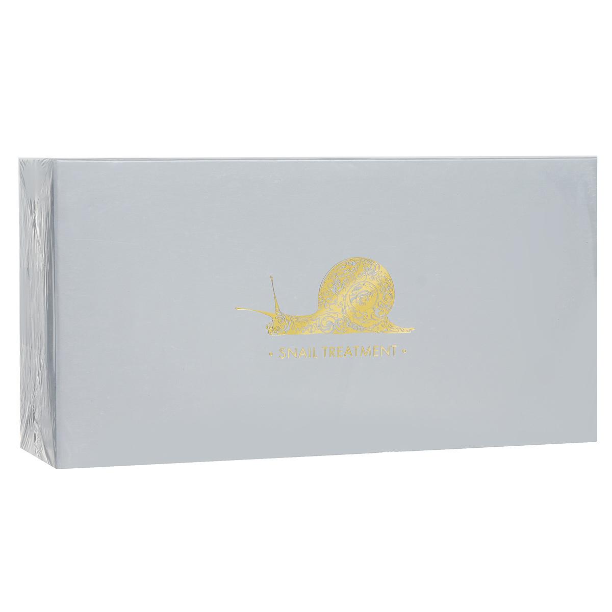 Beauty Style Смягчающая кислородная терапия для лица Snail Treatment, с молочком улитки4515601В состав набора для смягчающей кислородной терапии входят: Кислородная маска с молочком улитки Snail Smoothing Oxygenation Mask; Смягчающая сыворотка с молочком улитки Snail Smoothing Serum. Формулы препаратов включают фильтрат секрета улитки в максимальной концентрации, который обуславливает уникальную способность препаратов восстанавливать кожу на клеточном уровне. - Кислородная маска с молочком улитки Snail Smoothing Oxygenation Mask. Благодаря эксклюзивной формуле, кислородная маска активизирует процессы клеточного дыхания, стимулирует регенерацию и обменные процессы в клетках кожи, активизирует синтез коллагена и эластина. Маска не только насыщает влагой, но также оказывает успокаивающее действие, смягчает кожу, стимулирует процессы регенерации. Улучшает цвет лица и повышает тонус кожи, стимулирует процессы дыхания клеток, нейтрализует свободные радикалы, замедляя процессы старения. Входящие в состав аминокислоты...