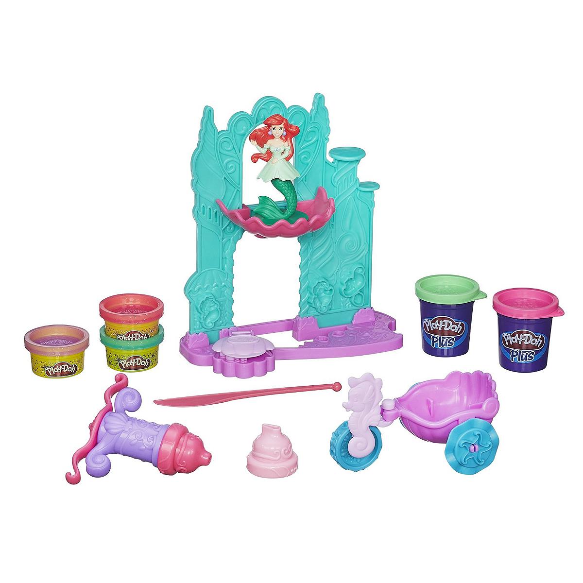 Play-Doh Игровой Набор Замок и Карета Ариэль