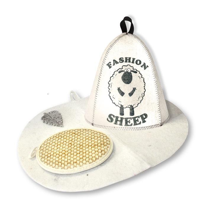 Набор для бани Fashion Sheep, 3 предметаБ32313