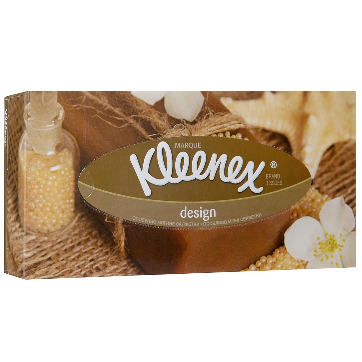 Салфетки универсальные Kleenex Design, двухслойные, 70 шт26083177