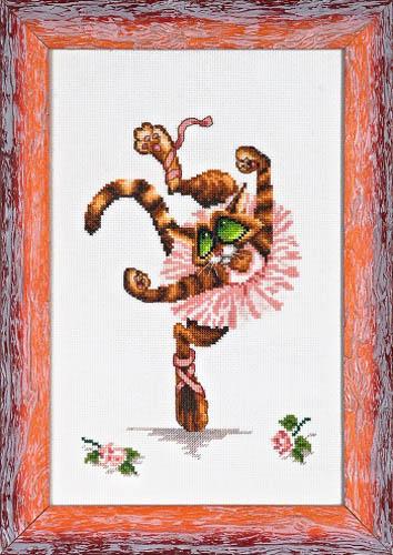 Набор для вышивания крестом Alisena Балерина, 23 см х 15 см. Art-1144547169Набор для вышивания крестиком Alisena Балерина поможет вам создать свой личный шедевр - красивую картину, вышитую нитками. В набор входит: - канва Aida №16 Zweigart белая (100% хлопок), - мулине Anchor - разработано и закреплено на органайзере, - игла, - символьно-цветная схема, - инструкция на русском языке. Размер готовой работы: 23 см х 15 см (141 х 89 крестиков). Количество цветов: 17. Работа, выполненная своими руками, станет отличным подарком для друзей и близких!