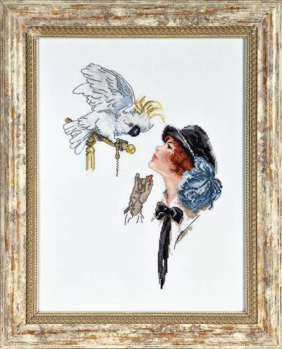 Набор для вышивания крестом Alisena Девушка с попугаем, 28 см х 20 см. Art-1150547175Набор для вышивания крестиком Alisena Девушка с попугаем поможет вам создать свой личный шедевр - красивую картину, вышитую нитками. В набор входит: - канва Aida №16 Zweigart белая (100% хлопок), - мулине Anchor - разработано и закреплено на органайзере, - игла, - символьно-цветная схема, - инструкция на русском языке. Размер готовой работы: 28 см х 20 см (180 х 129 крестиков). Количество цветов: 28. Работа, выполненная своими руками, станет отличным подарком для друзей и близких! УВАЖАЕМЫЕ ПОКУПАТЕЛИ! Обращаем ваше внимание на то, что рамка в состав набора не входит, а служит для визуального восприятия рисунка.