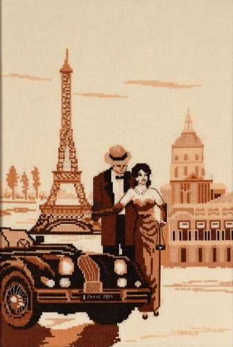 Набор для вышивания крестом Alisena Париж - город романтиков, 23 х 30 см Art-1155547180Набор для вышивания крестиком Alisena Париж - город романтиков поможет вам создать свой личный шедевр - красивую картину, вышитую нитками. В набор входит: - канва Aida №16 Zweigart цвета слоновой кости (100% хлопок), - мулине Anchor - разработано и закреплено на органайзере, - игла, - символьно-цветная схема, - инструкция на русском языке. Размер готовой работы: 23 см х 30 см (193 х 150 крестиков). Количество цветов: 12. Работа, выполненная своими руками, станет отличным подарком для друзей и близких!