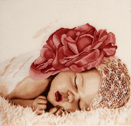 Набор для вышивания крестом Alisena Розовый сон, 34 см х 27 см. Art-1166547185Набор для вышивания крестиком Alisena Розовый сон поможет вам создать свой личный шедевр - красивую картину, вышитую нитками. В набор входит: - канва Aida №16 Zweigart цвета слоновая кость без рисунка (100% хлопок), - мулине Anchor - 16 цветов, - игла, - символьно-цветная схема, - инструкция на русском языке. Размер готовой работы: 34 см х 27 см (225 х 185 крестиков). Работа, выполненная своими руками, станет отличным подарком для друзей и близких!