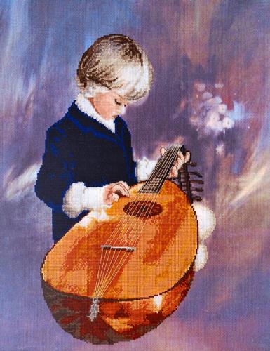 Набор для вышивания крестом Alisena Юный музыкант, 42 см х 33 см. Art-1175547193Набор для вышивания крестиком Alisena Юный музыкант поможет вам создать свой личный шедевр - красивую картину, вышитую нитками. В набор входит: - канва Aida №16 Zweigart тонированная (100% хлопок), - мулине Anchor - разработано и закреплено на органайзере, - игла, - символьно-цветная схема, - инструкция на русском языке. Размер готовой работы: 42 см х 33 см (231 х 135 крестиков). Количество цветов: 24. Работа, выполненная своими руками, станет отличным подарком для друзей и близких!