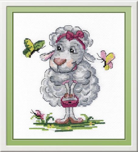 Набор для вышивания крестом Овечка, 20 х 15 см547480Набор для вышивания Овечка поможет вам создать свой личный шедевр - красивую картину, вышитую нитками мулине в технике счетный крест. Работа, выполненная своими руками, станет отличным подарком для друзей и близких! Набор содержит: - канва (белая) 100% хлопок, - нитки мулине х/б (14 цветов), - игла для вышивания, - цветная символьная схема, - инструкция на русском языке. Дизайнер: Татьяна Бервинова. УВАЖАЕМЫЕ КЛИЕНТЫ! Обращаем ваше внимание, на тот факт, что рамка в комплект не входит, а служит для визуального восприятия товара.