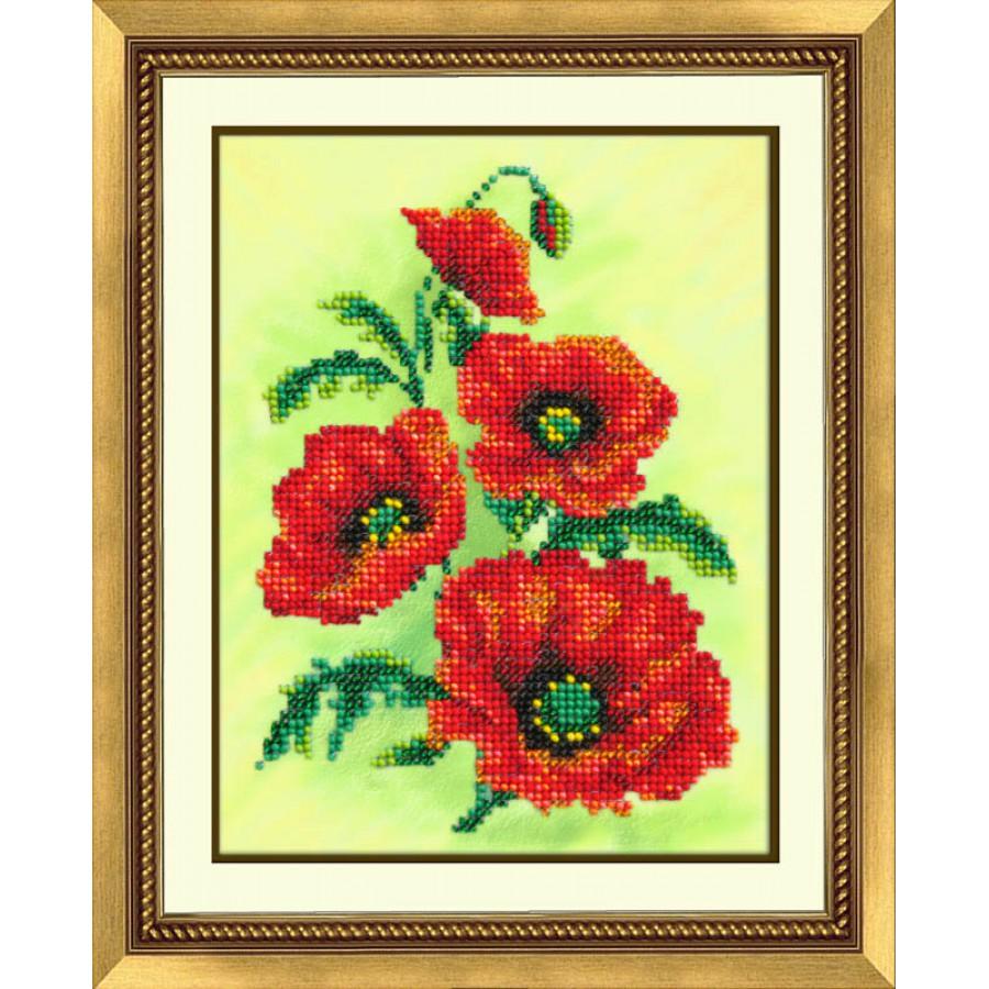 Набор для вышивания бисером Аленький цветочек, 18 см х 14 см547372Набор для вышивания бисером Аленький цветочек поможет вам создать удивительно красивую картину, вышитую бисером. Работа, выполненная своими руками, станет отличным подарком для друзей и близких! Подарите себе незабываемые часы удовольствия от ощущения себя творцом настоящего шедевра. Бисер пришивается в технике полукрест с соблюдением направления диагонали. В набор входит: - ткань с нанесенным рисунком (30 см х 25 см); - бисер производства Чехии (10 цветов); - игла для бисера; - инструкция на русском языке. Уважаемые клиенты! Рамка в комплект не входит, а служит для визуального восприятия товара.