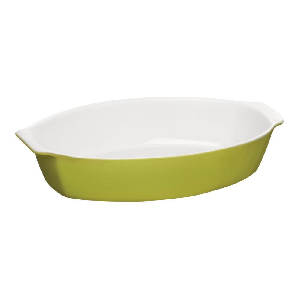 Емкость для запекания Premier Oven Love овальная, цвет: зеленый, 3,8 л0104367Емкость для запекания Premier Oven Love изготовлена из керамики. Теплопроводные свойства данной керамики близки к чугуну. Она планомерно нагревается и остывает, за счет этого приготовленные в ней блюда получаются очень сочными и вкусными. Вместительная, солидная форма для запекания Premier Oven Love в форме овала гарантирует отличное качество запекания и экономит ваше время и энергию на приготовлении пищи.