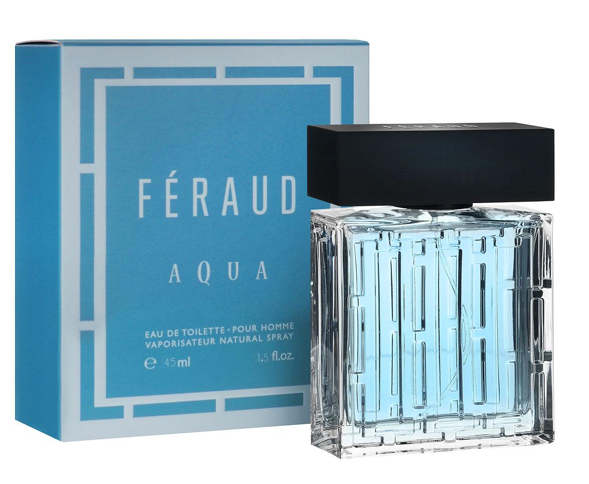 Louis Feraud Туалетная вода Aqua, мужская, 45 млFERAQU300001Таинственный и обольстительный мужской аромат Aqua от Louis Feraud - это приглашение к путешествию, полному риска и чувственности. Классификация аромата : пряный, фужерный. Пирамида аромата : Верхние ноты: базилик, бергамот, мандарин, водный аккорд. Ноты сердца: лаванда, тимьян, перец, розмарин, герань. Ноты шлейфа: мох, кедр, мускус, пачули, сандал. Ключевые слова чувственный, обольстительный. Туалетная вода - один из самых популярных видов парфюмерной продукции. Туалетная вода содержит 4-10% парфюмерного экстракта. Главные достоинства данного типа продукции заключаются в доступной цене, разнообразии форматов (как правило, 30, 50, 75, 100 мл), удобстве использования (чаще всего - спрей). Идеальна для дневного использования. Товар сертифицирован.