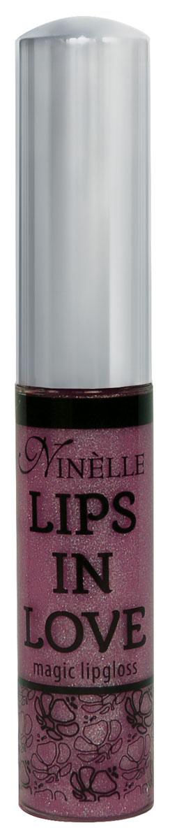 Ninelle Блеск для губ Lips in Love, тон № 25, 10 мл760N10469Блеск для губ Lips in Love придает губам дополнительный объем и насыщенный цвет. Гипоаллергенный. Товар сертифицирован.