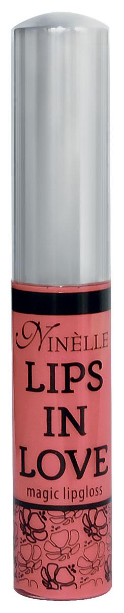 Ninelle Блеск для губ Lips in Love, тон №26, 10 мл761N10470Блеск для губ Lips in Love придает губам дополнительный объем и насыщенный цвет. Гипоаллергенный. Товар сертифицирован.