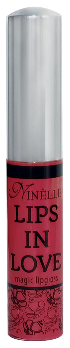Ninelle Блеск для губ Lips in Love, тон № 27, 10 мл762N10471Блеск для губ Lips in Love придает губам дополнительный объем и насыщенный цвет. Гипоаллергенный. Товар сертифицирован.