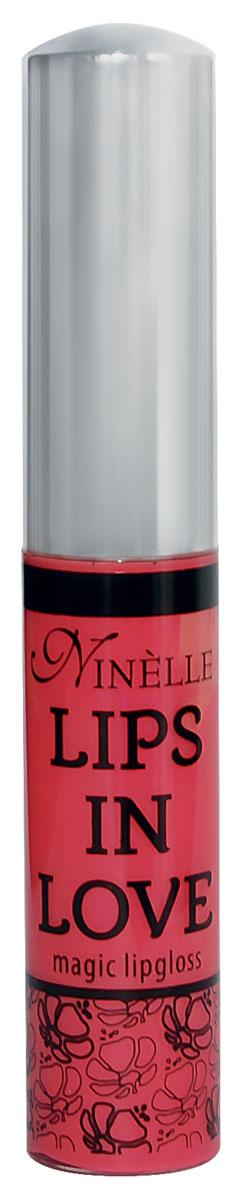 Ninelle Блеск для губ Lips in Love, тон № 29, 10 мл764N10473Блеск для губ Lips in Love придает губам дополнительный объем и насыщенный цвет. Гипоаллергенный. Товар сертифицирован.