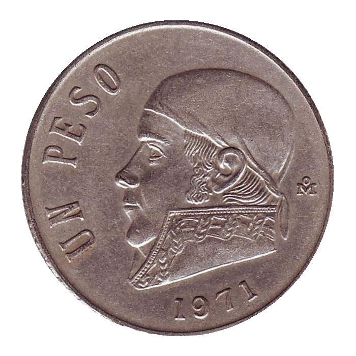 Монета номиналом 1 песо