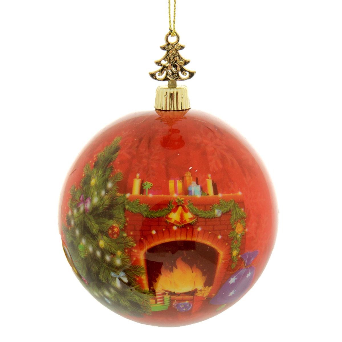 Новогоднее подвесное украшение Sima-land Шар Счастливого Нового года!, диаметр 8 см279332Новогоднее подвесное украшение Sima-land выполнено из высококачественного пенопласта в форме шара и покрыто цветной пленкой. Шар декорирован новогодним рисунком и пожеланиями. С помощью специальной петельки украшение можно повесить в любом понравившемся вам месте. Но, конечно, удачнее всего такой набор будет смотреться на праздничной елке. Елочная игрушка - символ Нового года. Она несет в себе волшебство и красоту праздника. Создайте в своем доме атмосферу веселья и радости, украшая новогоднюю елку нарядными игрушками, которые будут из года в год накапливать теплоту воспоминаний. Материал: пенопласт, пленка, текстиль.