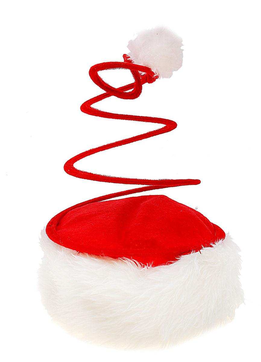 Колпак новогодний Sima-land, цвет: красный. 314114314114