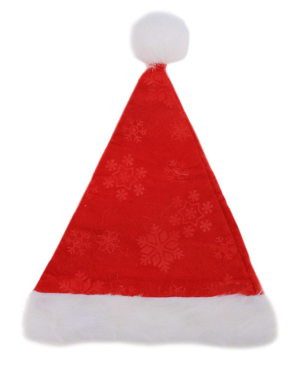 Колпак новогодний Sima-land, цвет: красный. 535452535452