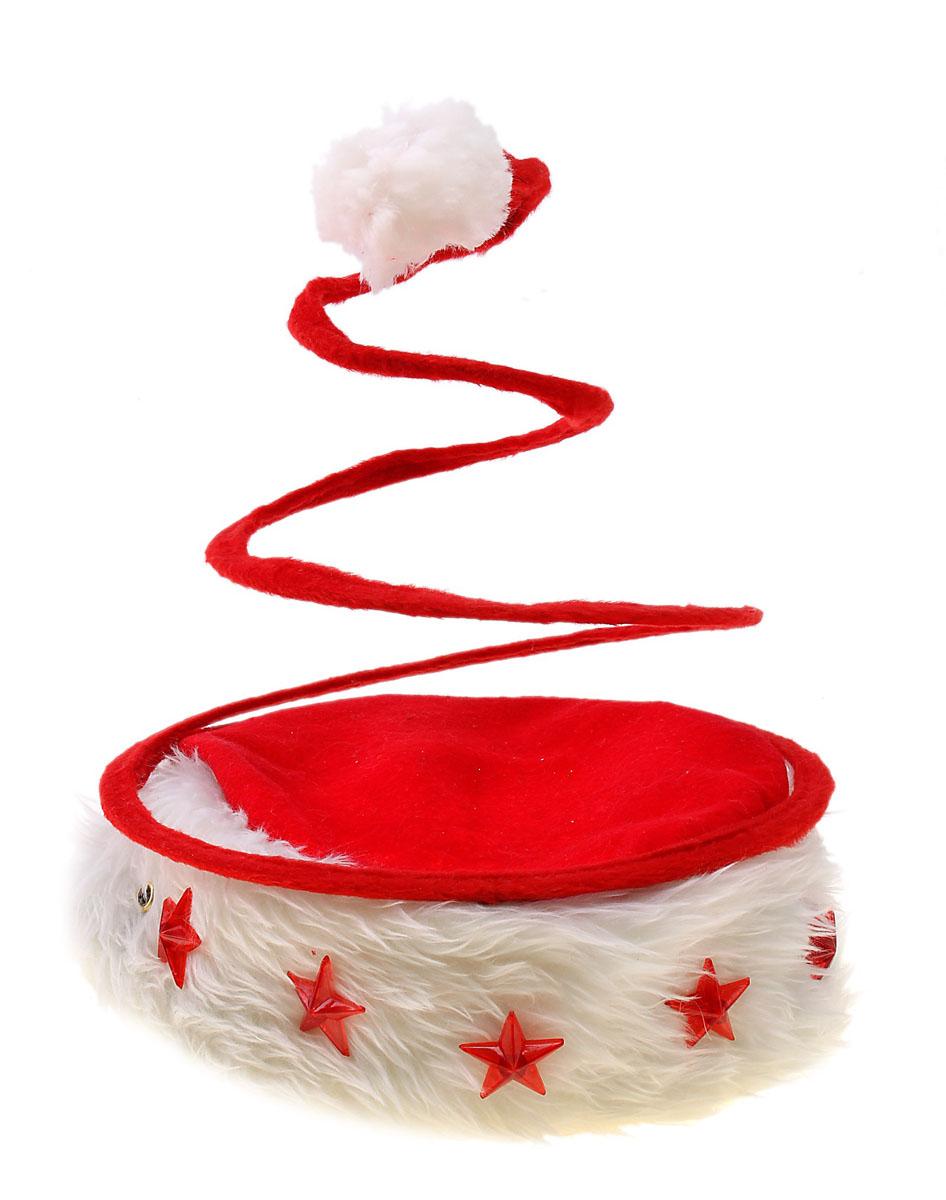 Колпак новогодний Sima-land, светящийся, цвет: красный. 703851703851
