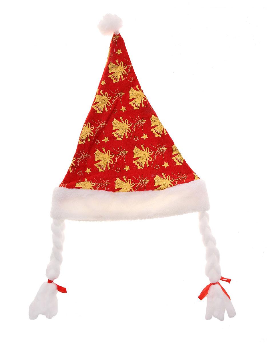 Колпак новогодний Sima-land, цвет: красный. 719605719605