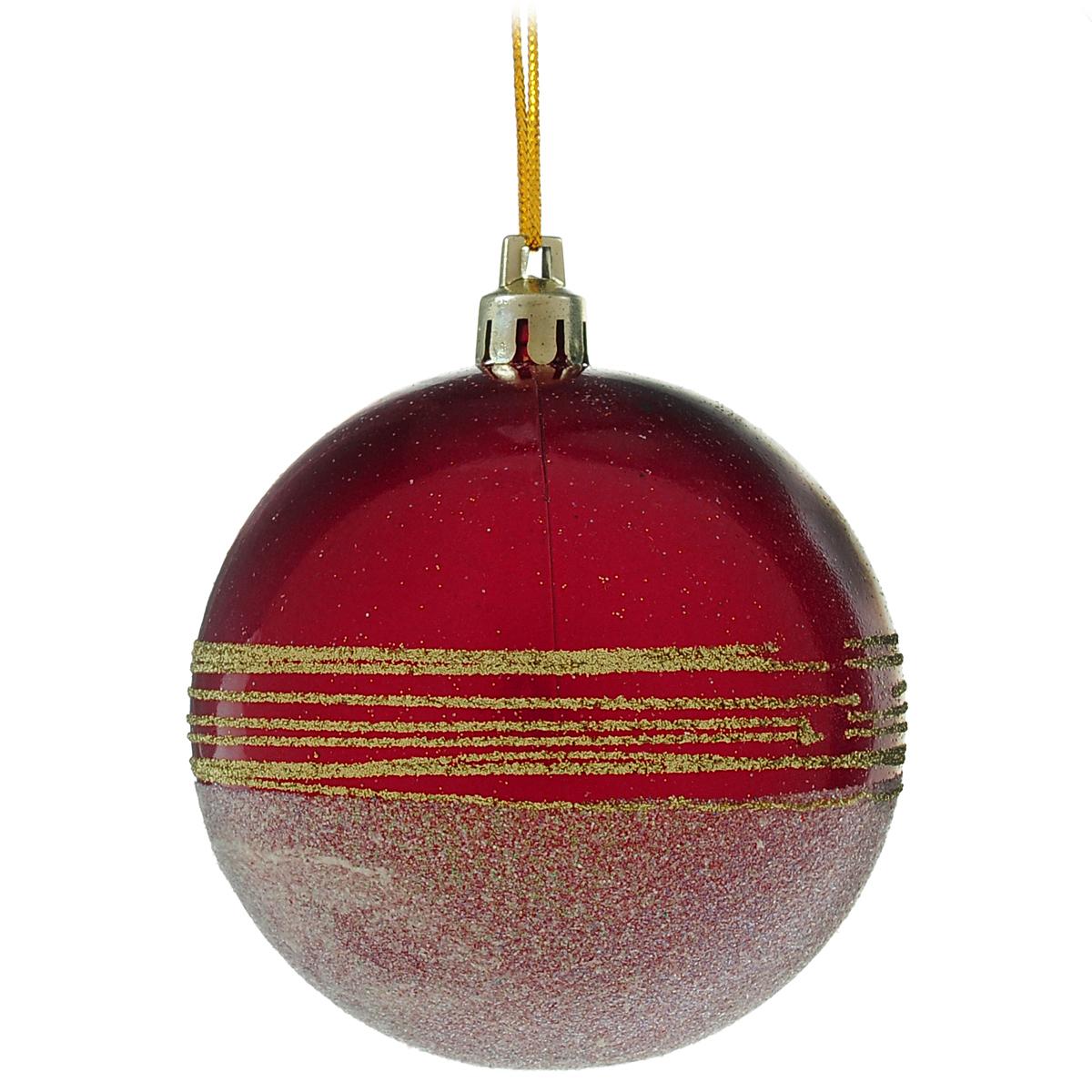Новогоднее подвесное украшение Шар. DB13056DB13056Новогоднее подвесное украшение Шар выполнено из высококачественного пластика и декорировано блестками. С помощью специальной текстильной петельки украшение можно повесить в любом понравившемся вам месте. Но, конечно, удачнее всего такой шар будет смотреться на праздничной елке. Елочная игрушка - символ Нового года. Она несет в себе волшебство и красоту праздника. Создайте в своем доме атмосферу веселья и радости, украшая новогоднюю елку нарядными игрушками, которые будут из года в год накапливать теплоту воспоминаний.