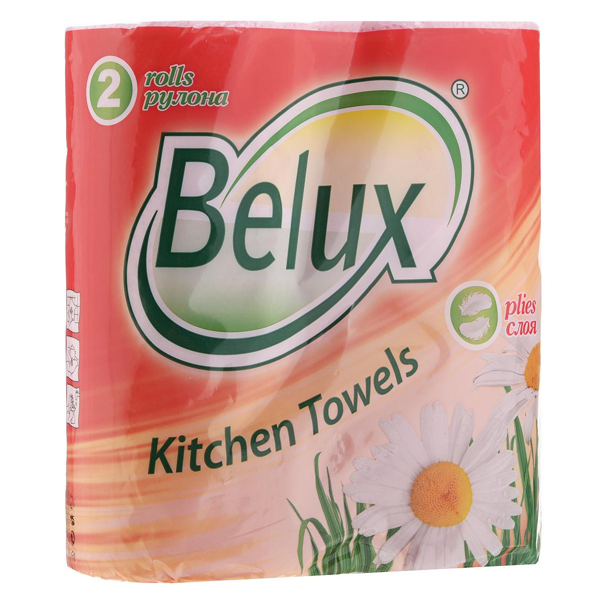 Полотенца кухонные бумажные Belux, двухслойные, цвет: розовый, 2 рулона36297Кухонные бумажные полотенца Belux прекрасно подойдут для использования на кухне. В комплекте - 2 рулона двухслойных полотенец с тиснением. Полотенца мягкие, но в тоже время прочные, с отрывом по линии перфорации. Особенности полотенец: - не оставляют разводов на гладких и стеклянных поверхностях, - идеально впитывают влагу, - отлично впитывают жир, - подходят для ухода за домашними животными, бытовой техникой, автомобилем. Товар сертифицирован.