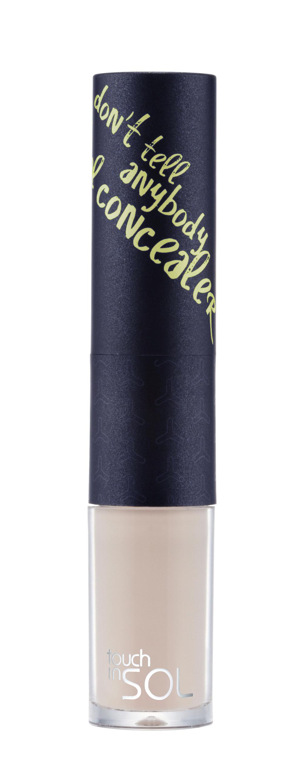 Touch in SOL Консилер Dont tell anybodyУТ000000790Удобный для использования Консилер в виде карандаша и аппликатора легко скрывает темные круги под глазами, мимические морщины, пигментные пятна и другие недостатки кожи, высветляет кожу вокруг глаз. Увлажняет и защищают кожу благодаря содержанию растительных экстрактов, масел и витаминов. Карандаш телесного оттенка мягко ложится на кожу и легко растушевывается, используется в виде дополнительного покрытия перед нанесением пудры или тонального средства, жидкая основа более густой текстуры розоватого оттенка подходит для точечной маскировки - пятен, морщин, красноты и высветления отдельных участков кожи. Товар сертифицирован.