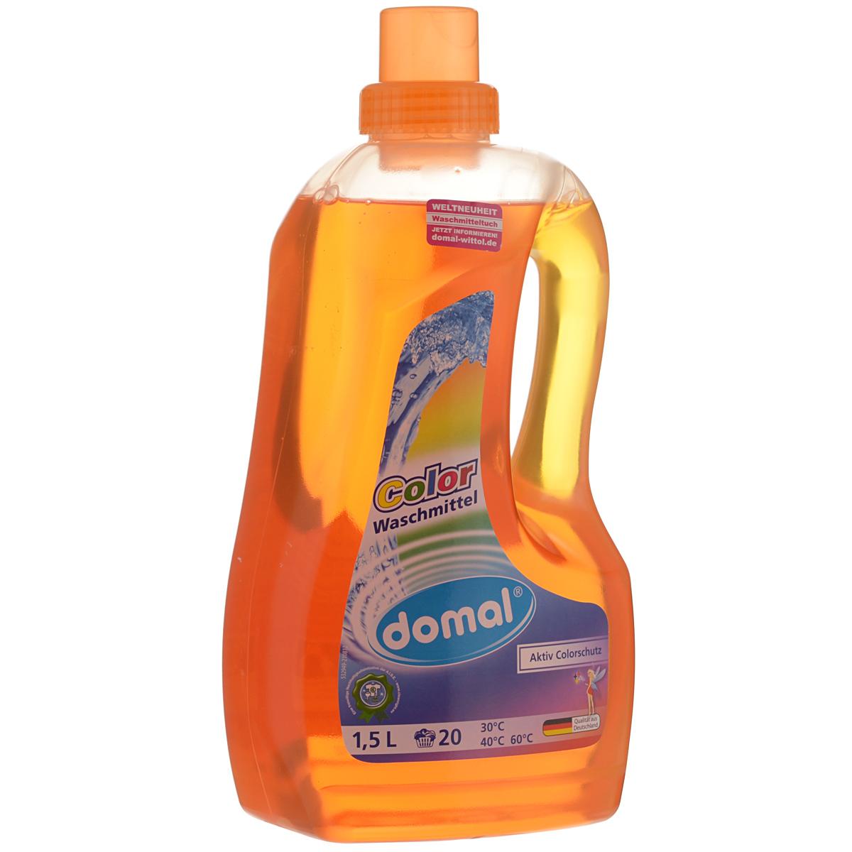 """Моющее средство """"Domal"""" для цветного белья, 1,5 л 129571"""
