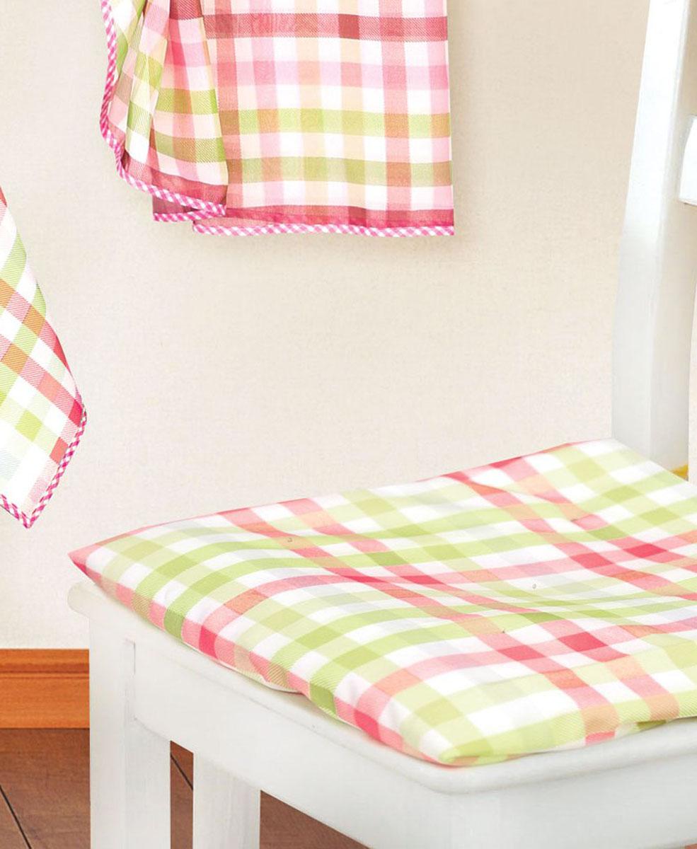 Подушка для стула Garden Клетка, 40 см х 40 смск 8225w1985 v31