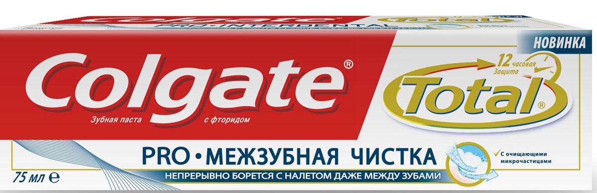 "Colgate Зубная паста ""Total 12 Pro. Межзубная чистка"" , 75 мл FCN89451"