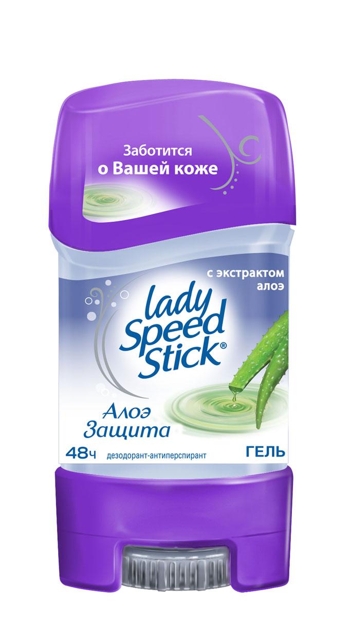 Дезодорант-гель Lady Speed Stick Алоэ, 65 г410620Дезодорант Lady Speed Stick Алоэ эффективно защищает от потоотделения и запаха пота 24 часа.