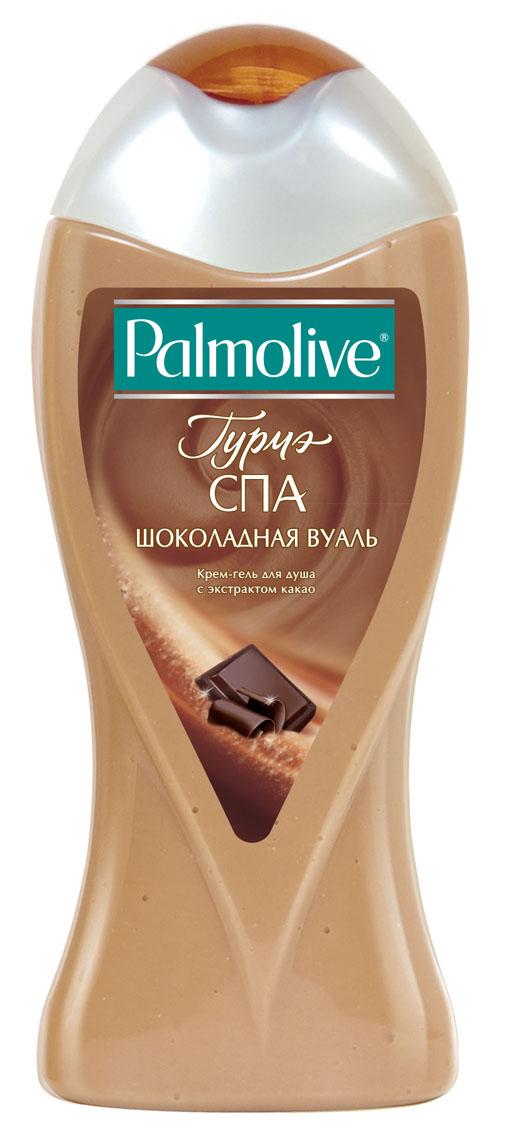 Palmolive Крем-гель для душа Гурмэ Спа Шоколадная Вуаль, с экстрактом какао, 250 мл