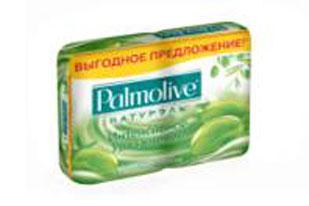 Palmolive Мыло туалетное Интенсивное Увлажнение, с экстрактом оливы и увлажняющим молочком, 2х90 г