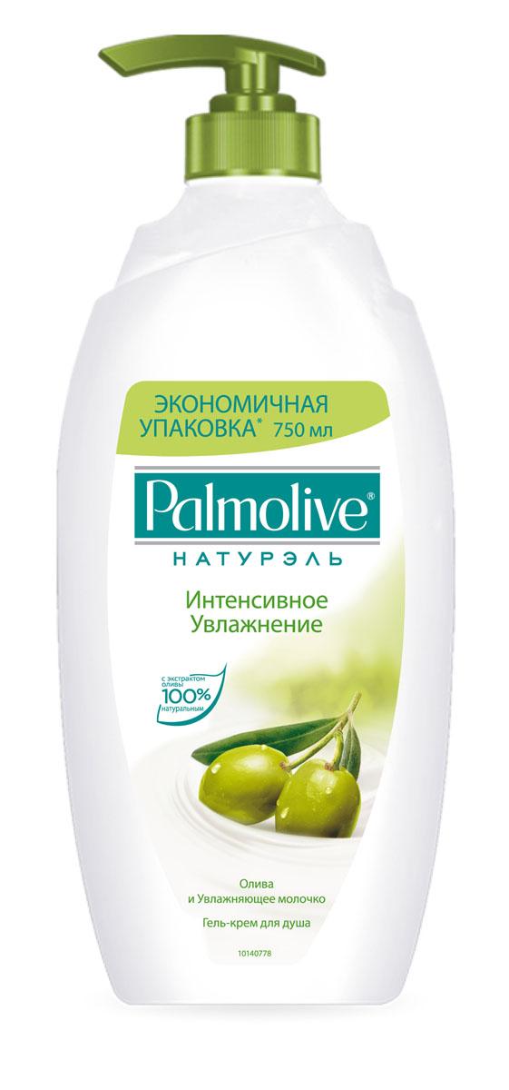 Гель-крем для душа Palmolive Интенсивное увлажнение, 750 млFTH07145Гель-крем для душа Palmolive Интенсивное увлажнение с экстрактом оливы и увлажняющим молочком способствует увлажнению кожи и дарит ей ощущение необыкновенной мягкости и шелковистости.