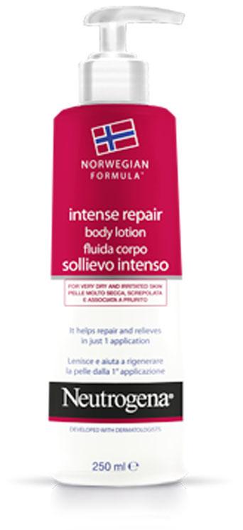 Neutrogena Норвежская Формула Молочко для тела Интенсивное восстановление, для сухой кожи, 250 мл75824Клинически доказано, что молочко для тела NEUTROGENA® «Норвежская Формула» «Интенсивное Восстановление» образует «защитный слой» для Вашей кожи и помогает восстанавливать ее, избавляя от чувства дискомфорта уже после однократного применения. Уже после 1-ого применения Вы чувствуете облегчение, к Вам возвращается чувство комфорта. Кремовая, нежирная текстура быстро впитывается, позволяя одеваться сразу же после нанесения продукта на кожу. Интенсивное увлажнение в течение 24 ч. При ежедневном применении Ваша кожа интенсивно увлажнена, она становиться более мягкой и гладкой. Товар сертифицирован.