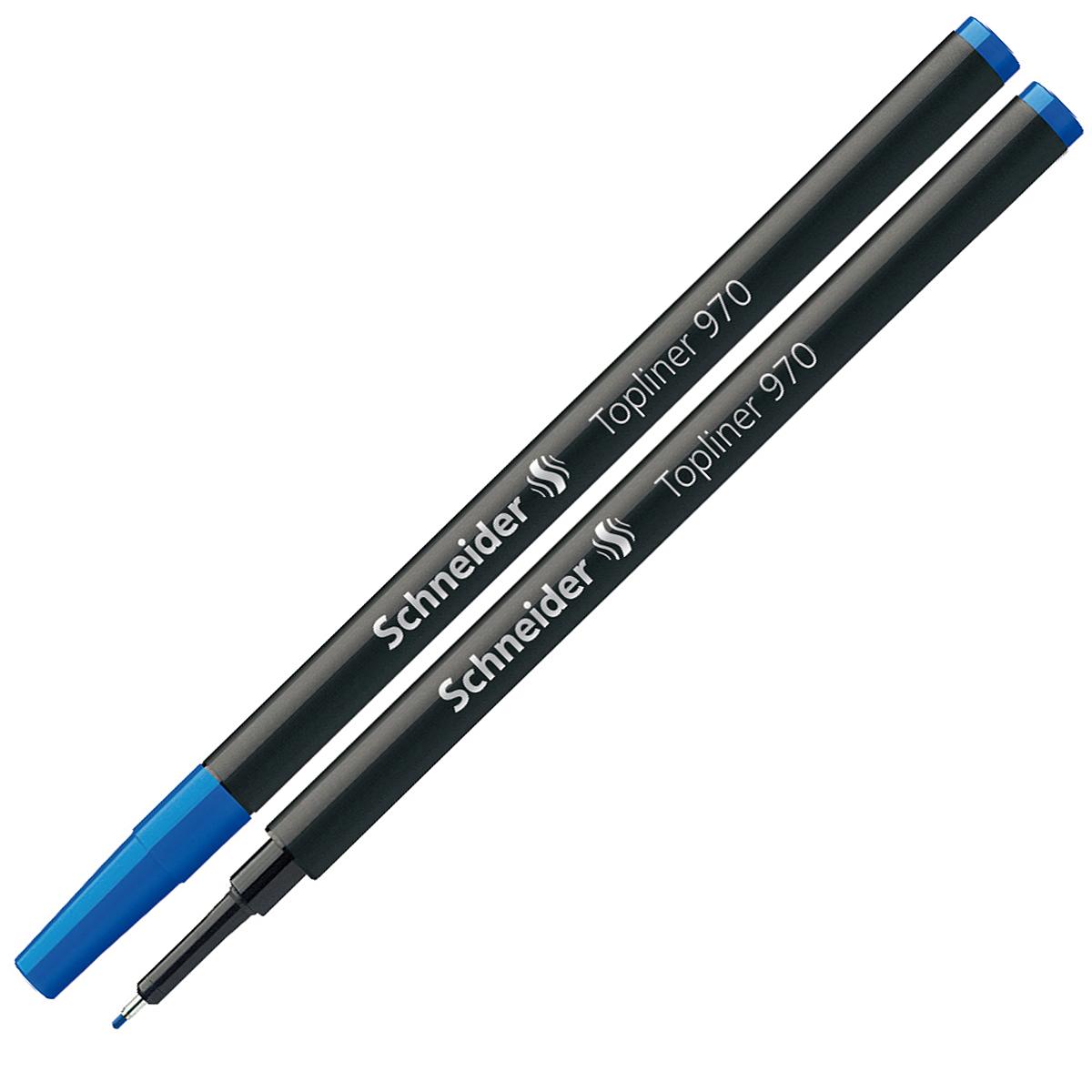 Стержень Schneider, капиллярный, цвет: синий. S970S970/3 S970-01/3Капиллярный стержень евро-формата Schneider предназначен для линеров. Металлический трубчатый наконечник для особо четкого и тонкого письма, рисования и черчения. Ширина штриха - 0,4 мм. Комплектуется защитным колпачком. Подходит для Topball 811, а также для Xtra Change. В комплекте один стержень.