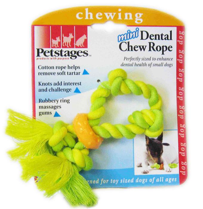 Игрушка для собак Petstages Mini. Канат, цвет: желтый, салатовый137REXИгрушка для собак Petstages Mini. Канат выполнена из текстиля и предназначена для мелких пород собак. Канат удаляет зубной налет, что способствует поддержанию здоровья полости рта. Резиновое кольцо массирует десны во время игры.