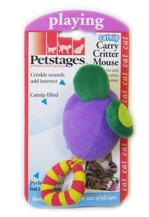Игрушка для кошек Petstages Мышка368YEXИгрушка для кошек Petstages Мышка не может не привлечь вашего питомца. Шуршащие звуки издаваемые игрушкой, поддерживают интерес к игре. Размер изделия: 11 см х 5 см х 4 см. Товар сертифицирован.