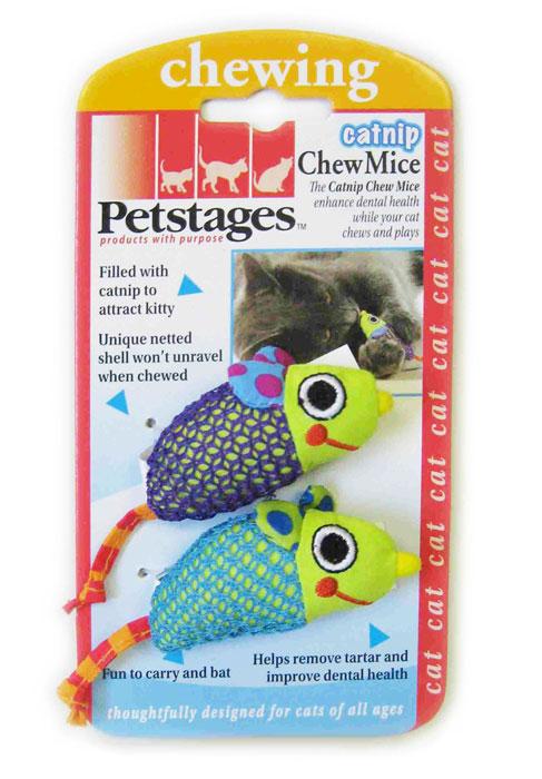 """Игрушка для кошек Petstages """"Мышки"""", 2 шт 327YEX"""