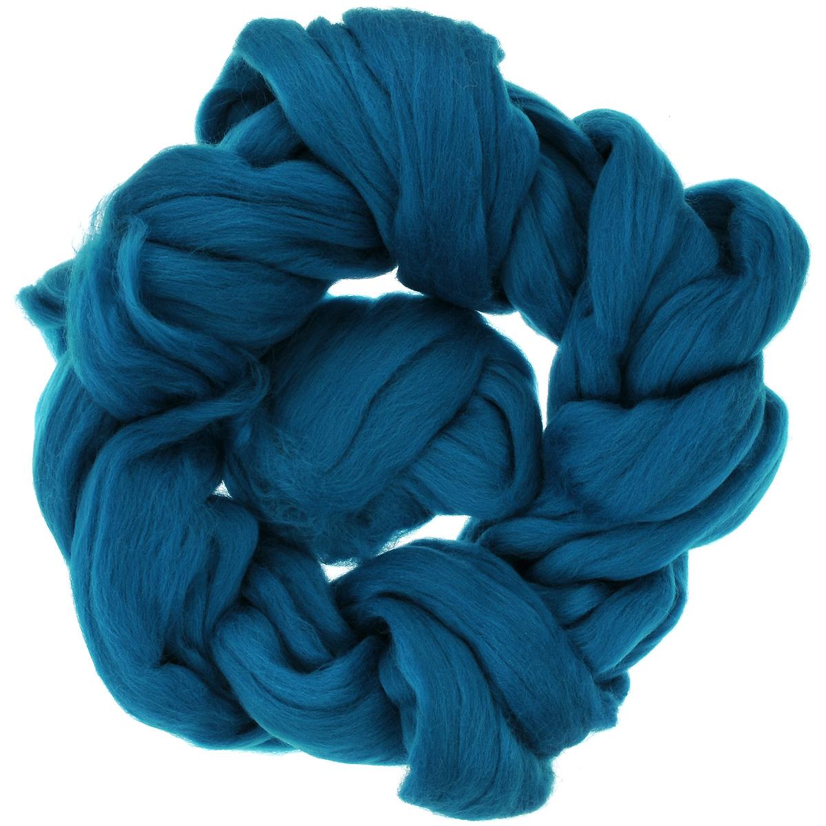 Шерсть для валяния Астра, тонкая, цвет: морская волна (0331), 100 г366137_0331