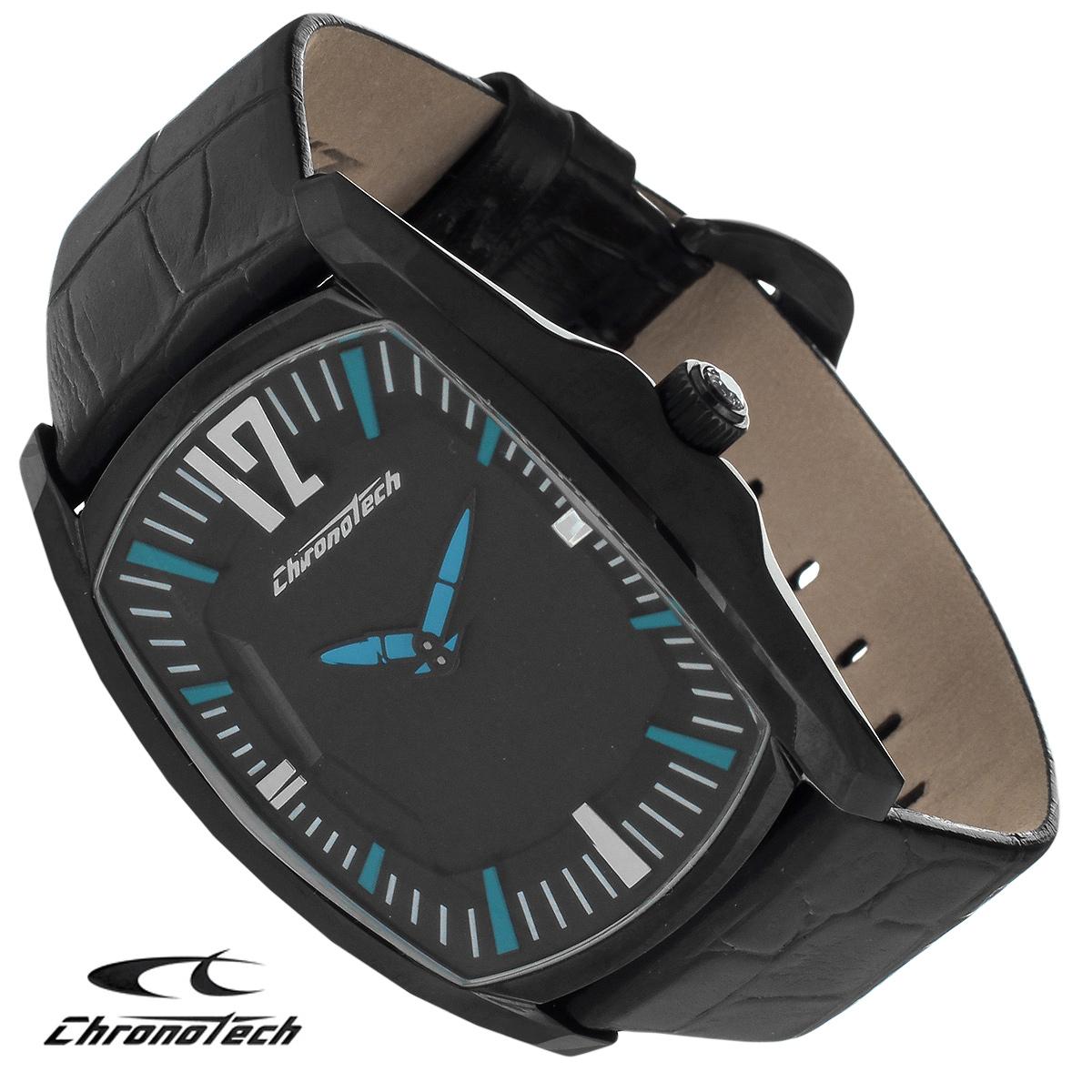 Часы мужские наручные Chronotech, цвет: черный. CT.7219M/10CT.7219M/10Часы Chronotech - это часы для современных и стильных людей, которые стремятся выделиться из толпы и подчеркнуть свою индивидуальность. Корпус часов выполнен из нержавеющей стали с покрытием. Циферблат оформлен арабскими цифрами и отметками и защищен минеральным стеклом в форме призмы. Часы имеют две стрелки - часовую и минутную. Ремешок часов выполнен из натуральной кожи с тиснением и застегивается на классическую застежку. Часы упакованы в фирменную коробку с логотипом компании Chronotech. Такой аксессуар добавит вашему образу стиля и подчеркнет безупречный вкус своего владельца. Характеристики: Размер циферблата: 2,9 см х 4 см. Размер корпуса: 4 см х 5 см х 1,1 см. Длина ремешка (с корпусом): 24 см. Ширина ремешка: 2 см.