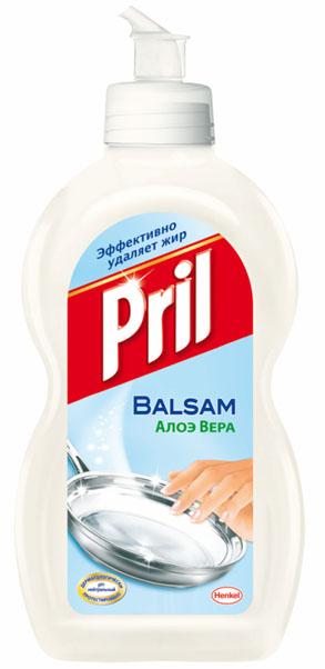 Средство для мытья посуды Pril Бальзам Алоэ Вера, 450 мл934975Средство для мытья посуды Pril Бальзам Алоэ Вера эффективно удаляет жир с посуды и одновременно бережно заботится о коже рук. Состав: 5-15% анионные ПАВ, Товар сертифицирован.