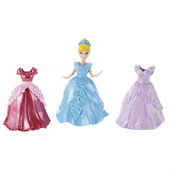 Подарочный набор Disney Princess MagiClip: Принцесса Золушка и 2 дополнительных нарядаcinderella/astBBD31Подарочный набор Disney Princess MagiClip: Принцесса Золушка и 2 дополнительных наряда включает мини-куколку в виде Золушки и 2 дополнительных платья на любой случай. Уникальная технология, не имеющая аналогов, позволит без труда сменить одно платье на другое. Одежда Золушки выполнена из очень мягкого материала, а конструкция наряда позволяет раскрывать его края и вставлять куклу, защелкнув затем на ней платье. У мини-куколки подвижные руки, ноги и голова. В платье она стоит, а без него может и сидеть. Этот набор - замечательный подарок для вашей дочери!