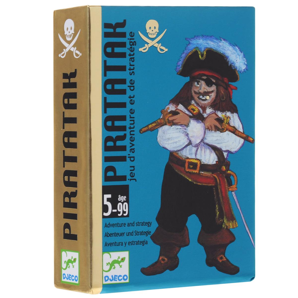 Карточная игра Djeco Пират