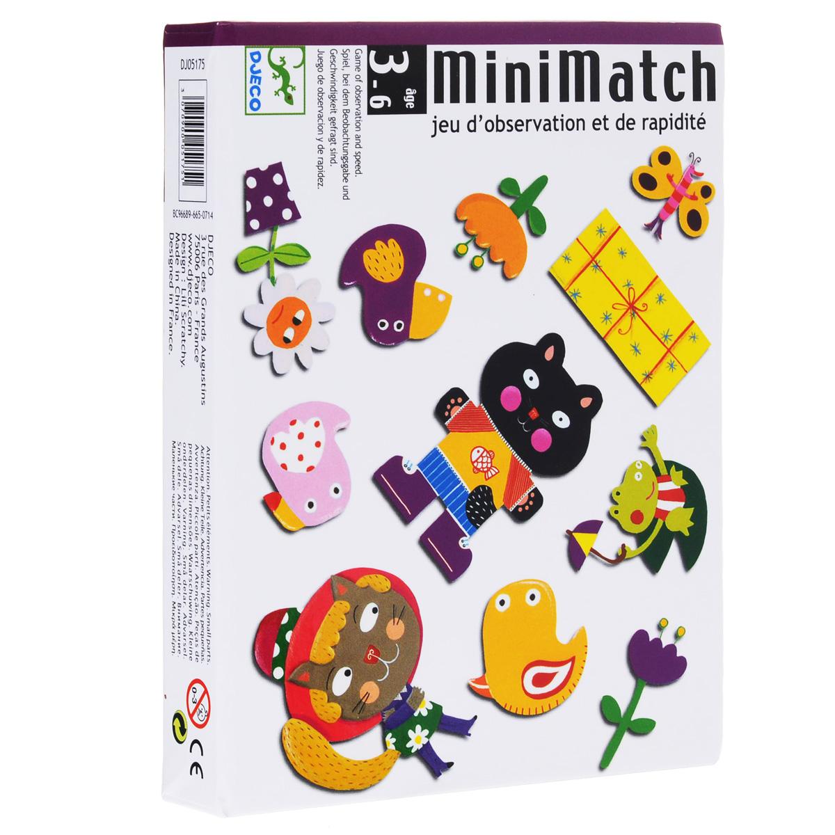 Карточная игра Djeco Миниматч