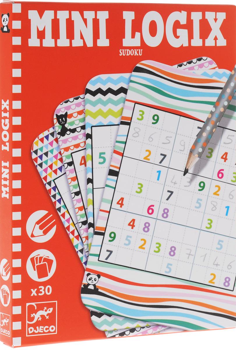 Мини-игра Djeco Судоку05350Детская версия популярной игры Судоку от французского производителя игр и игрушек Djeco позволит ребенку с пользой скоротать время в поездке. Судоку – популярная японская игра-головоломка с числами теперь доступна и в детском формате! Игра рассчитана на детей от 6 лет. Она позволит развить математические навыки, логику, внимательность и сообразительность ребенка. Игра представлена в мини-формате, что позволяет брать ее с собой на прогулку или в путешествие.