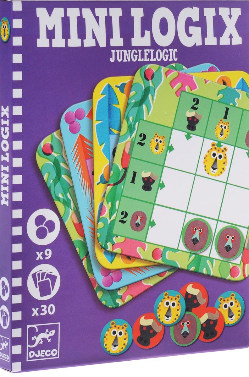 Мини-игра Djeco Логика: Джунгли05358Игра Логика: Жжунгли – детская игра-головоломка, которая надолго увлечет малыша! Игра рассчитана на детей от 6 лет. Она позволит развить математические навыки, логику, внимательность и сообразительность ребенка. Игра представлена в мини-формате, что позволяет брать ее с собой на прогулку или в путешествие.